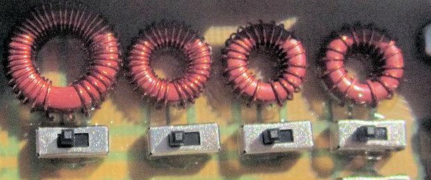 N5HBN QRP tuner torroids